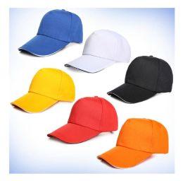 新款热销款全棉广告帽子鸭舌帽工作帽定做批发厂