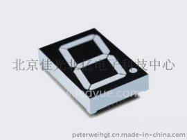 1.8英寸单一1位led数码管共阳共阴黄绿光18011A/B