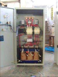 250kW中文软启动柜,搅拌机自耦减压启动柜