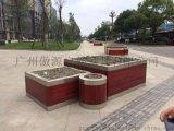 珠海不锈钢包边花箱制造厂,江门市景观园林专用不锈钢包边花箱