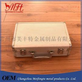 厂家直销铝合金工具箱,家用安全防爆药箱医疗箱,EVA防震垫铝箱
