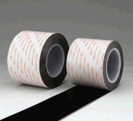 供应金属塑料粘贴防水胶带  日东HJ-90115B、HJ-90120B、HJ-90125B、HJ-90130B黑色双面胶带
