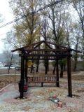 木结构凉亭景区亭子木质凉亭