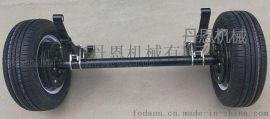 拖车车桥轮组