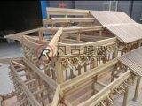 微缩木质仿古建筑模型 山西仿古建筑模型
