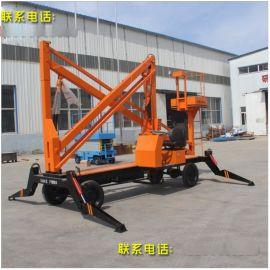济南厂家现货14米自行曲臂式升降机高空作业平台车