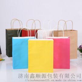 上海牛皮纸袋手提纸袋定制生产厂家