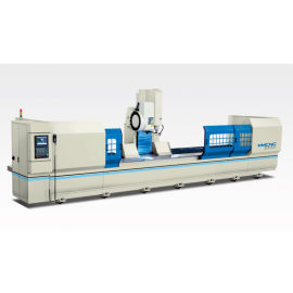 工业铝合金型材数控三轴联动加工中心