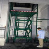 固定升降机厂家、佛山剪叉式升降货梯提供商三良机械