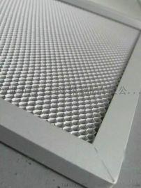 光触媒网铝蜂窝过滤网空气净化除甲醛