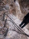 贵州长顺矿山开采,液压岩石劈裂机