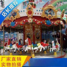 游乐设备旋转木马孩子们的梦想金山游乐行业**