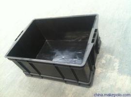 苏州周转箱黑色全新料注塑箱厂家现货批发量大从优
