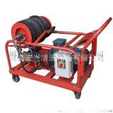 350bar進口本田汽油高壓清洗機 根雕剝樹皮高壓清洗機