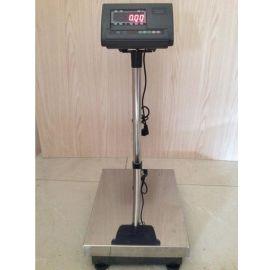 供应 上海TCS-60kg电子台秤 304不锈钢防腐蚀台面电子秤
