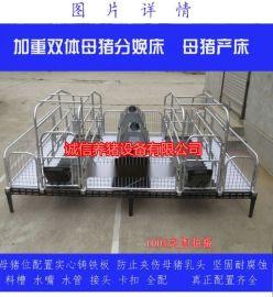 诚信品牌养猪设备母猪产床型号肥猪产子栏漏粪板猪床直销