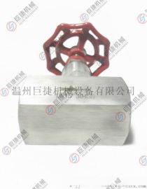 江苏用户指定针型截止阀 J13W不锈钢内螺纹截止阀