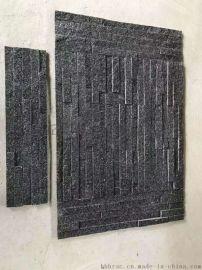 厂家直销黑金沙文化石木纹砂岩板质量好