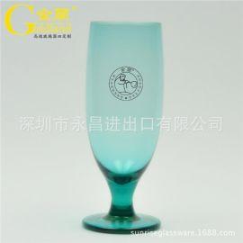 广东**餐饮专用彩色玻璃水杯特饮杯定制系列玻璃杯