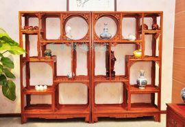 西安仿古实木家具市场、老榆木红木家具、定做厂家