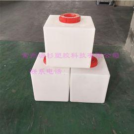 常州40L洗车机水箱 塑料小方桶  汽车专用水箱