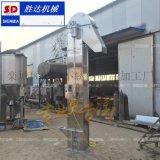 四川供應顆粒物料垂直提升機 不鏽鋼塑料斗式升降非標定製
