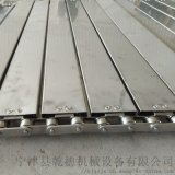 金屬輸送鏈板傳動帶 不鏽鋼衝孔鏈板 山東生產廠家