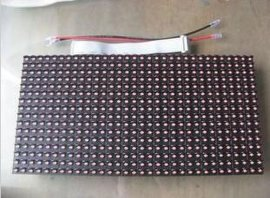 半户外P10单红色 LED单元板(高亮)