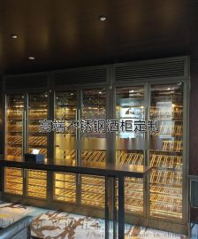不鏽鋼酒櫃效果圖 北京不鏽鋼酒櫃定制廠家