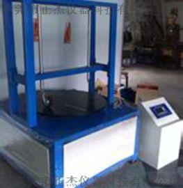 工业脚轮出口检测設備,正杰双工位脚轮耐磨試驗機