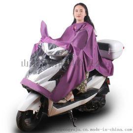 文竹702成人雨衣单人自行车电动车雨衣大帽檐雨披