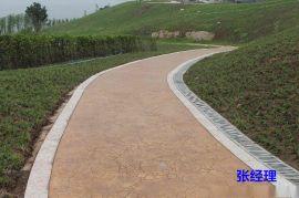 甘肅印花路面裝飾地坪專業可靠