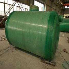河南家用整体玻璃钢环保化粪池轻质高强