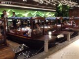 重庆湖北哪里有桂满陇餐饮船出售 中式室内餐饮船厂家