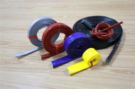批發定制各種顏色管筒式耐高溫套管 耐熱套管 防火套管