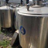 出售304材质二手不锈钢冷热缸 二手不锈钢搅拌罐