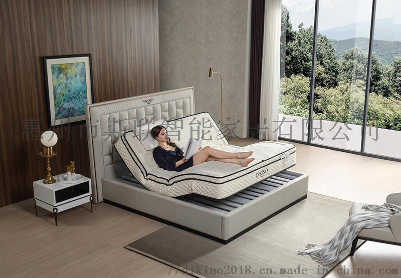 迪姬诺土耳其纯棉麻面料情趣床垫酒店床垫智能电动床垫