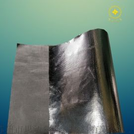 工厂直销耐高温铝箔玻纤布长输热网专用保温反射层