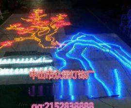 LED愛心拱門造型燈光節裝飾燈