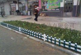 pvc塑钢隔离栏绿地草坪护栏内衬塑钢花草围栏