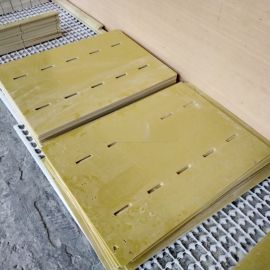 黄色环氧树脂绝缘板来图加工定制