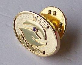 长沙专业金属徽章订做,湘潭logo胸章定制胸针