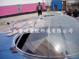 山东耐力板 机械防护罩pc板 隔音屏pc耐力板