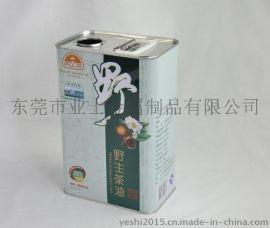 东莞业士定制马口铁野生山茶油铁罐