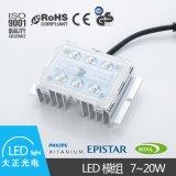 普及版市电路灯模组7-20Wled太阳能大功率高亮度防水IP67直销耐用
