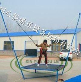 折叠款儿童钢架蹦极床钢管儿童跳跳床价格