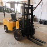 绿色环保小型电动叉车厂家直供坐驾式电动叉车