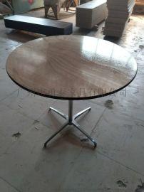 吧台桌椅吧凳地中海实木家用小吧台桌咖啡 吧台餐桌