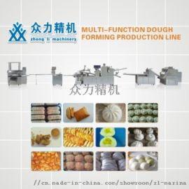 全自动多功能酥饼包子生产线 ZL-180型生产线