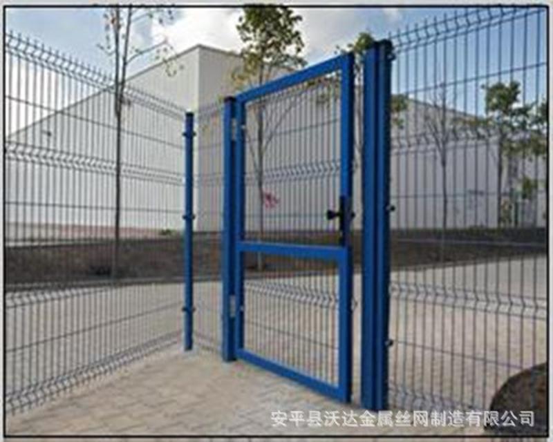 沃达供应 工厂折弯围栏 围墙铁丝网 铁网围栏1.8m*3.0m